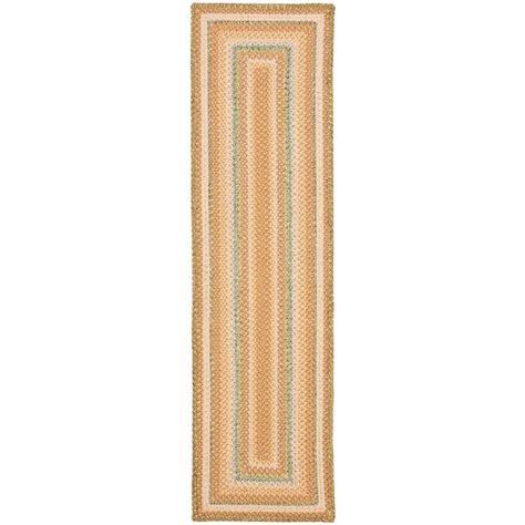 safavieh braided multi 8 ft x 8 ft safavieh braided multi 2 ft 3 in x 8 ft runner brd314a 28 the home depot