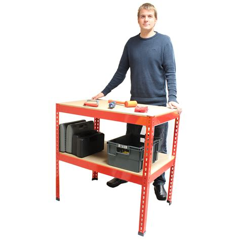 shed work bench heavy duty metal workbench for garage workshop shed work