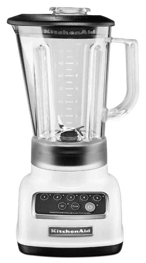 kitchen aid small appliances kitchenaid ksb1570wh 5 speed blender white appliances