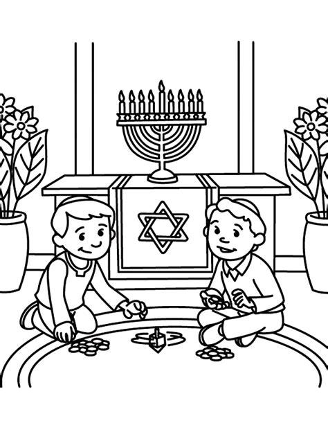 hanukkah coloring pages for adults hanukkah coloring sheets az coloring pages