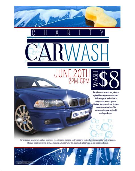 Car Wash Flyer Template Free Yourweek 15c9d6eca25e Car Wash Flyer Template Free