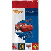 Rideau Flash Mcqueen by Rideau 65 Coton 35 Polyester 140x260cm Cars Gp
