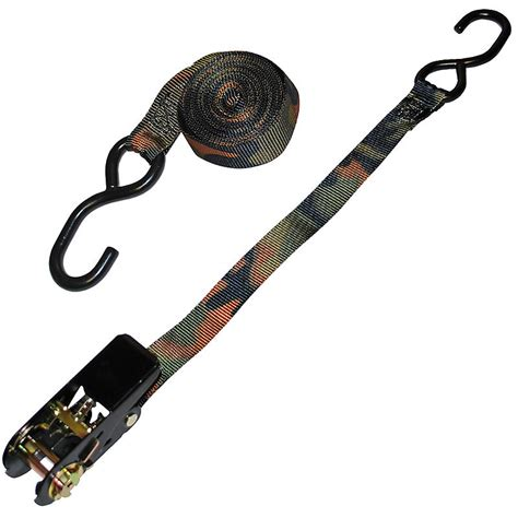 ratchet straps 1 quot custom camo ratchet w s hooks ratchet straps usa