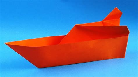 origami boat youtube how to make an origami boat step by step youtube