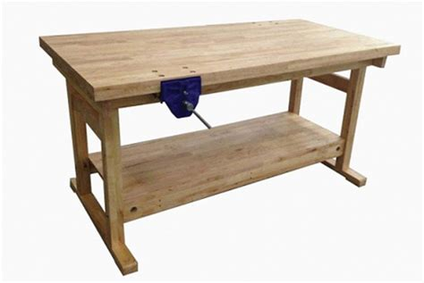 student bench 2 student woodwork bench incl 175mm plain screw vices