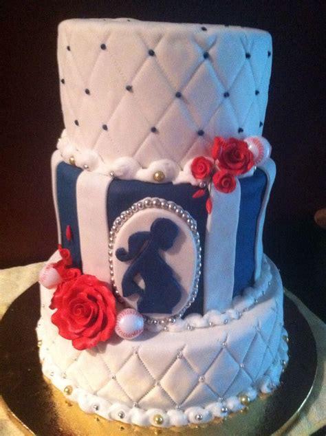 Baseball Baby Shower Cakes by Baseball Baby Shower Cake Cakes