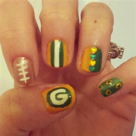 nail salons green bay east green bay packer nails football fashion pinterest