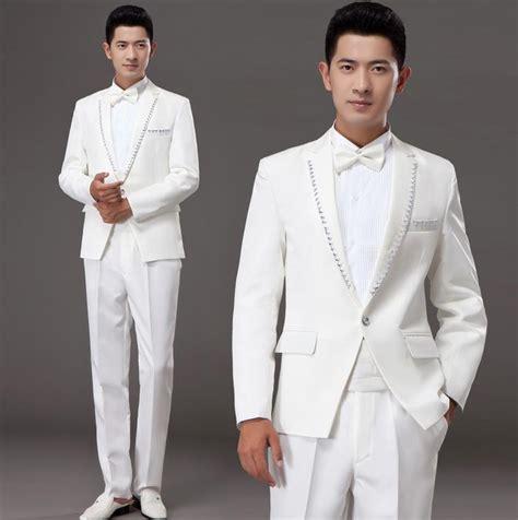 Boyset 5 In 1 Korean White Set aliexpress buy white korean married formal