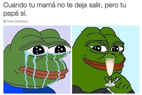imagenes de rana llorando memes de la rana pepe que reflejan tu vida humor taringa