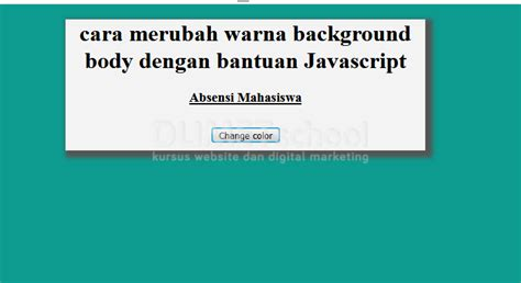 change background color javascript button phpsourcecode net