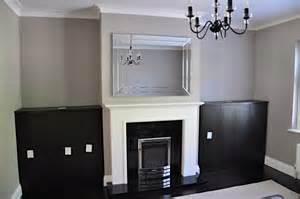 Room Cupboard Living Room Alcove Cupboards In Black Brown Oak Diy