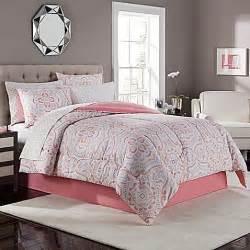 juniper comforter set in coral grey bed bath beyond