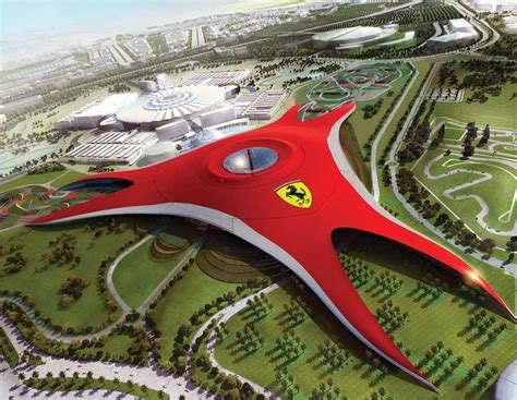 ferrari building ferrari world abu dhabi fwad building e architect