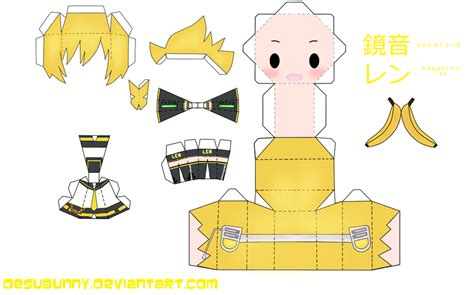 Anime Papercraft Template - printable paper crafts anime templates