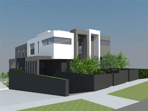 Contemporary Plan by Truly Beautiful Modern Day House Plans Modern House Plan