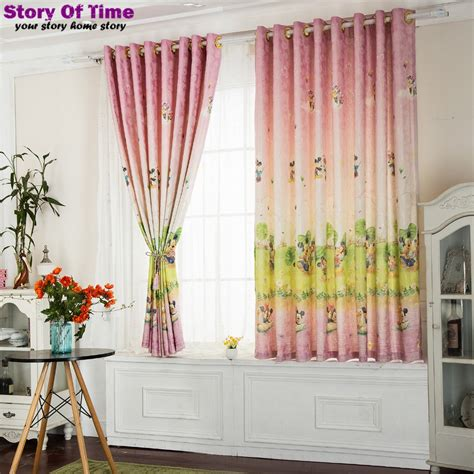 mickey mouse bedroom curtains modern children curtain cartoon mickey mouse the curtain