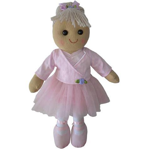 powell craft rag doll 40cm powell craft 40cm ballerina rag doll in a pink tutu