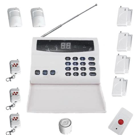 this deals wireless home security alarm system auto