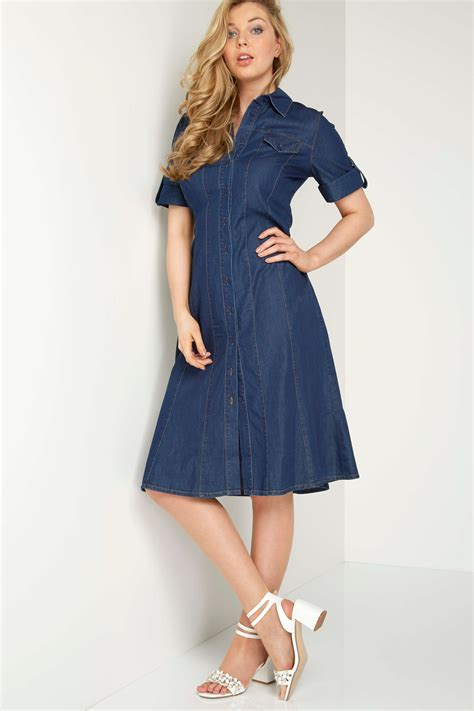Dress Denim denim shirt dress in denim originals uk