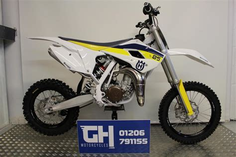 85cc motocross bike husqvarna tc85 b w 85cc moto cross white