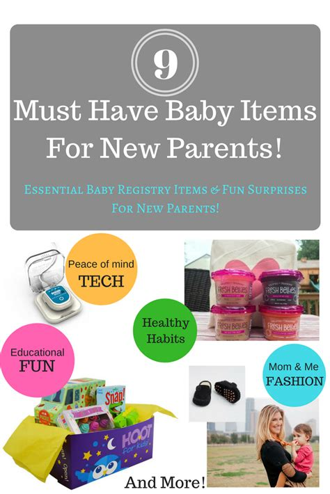 must have home items 9 must have baby items for new parents the shady lane