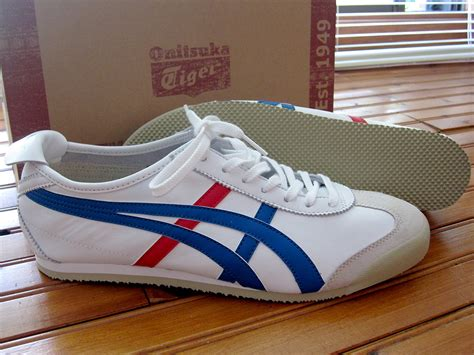 Onitsuka Tiger Original 3 file asics onitsuka tiger mexico 66 white blue jpg wikimedia commons