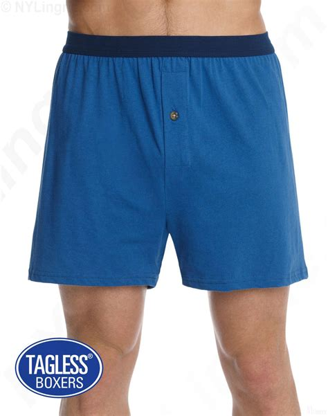 hanes knit boxers hanes s tagless 174 knit boxers with comfortsoft