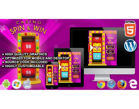 Html5 Game Casino Spin Win Code This Lab Srl Html5 Spinning Wheel