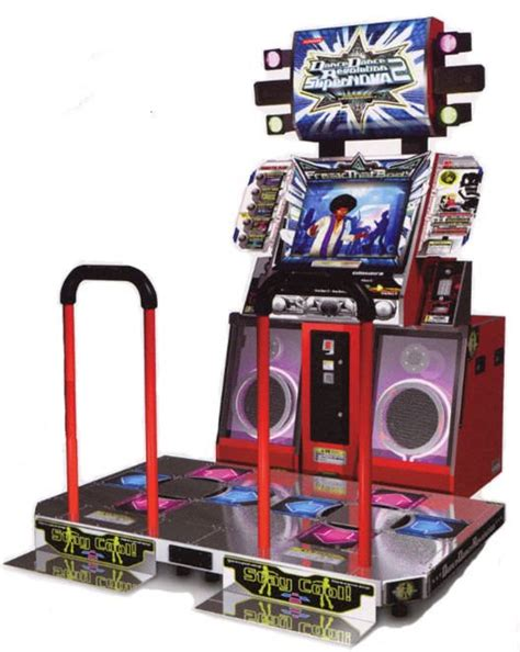 Dining Room Pool Table Dance Dance Revolution Supernova 2 Arcade Machine