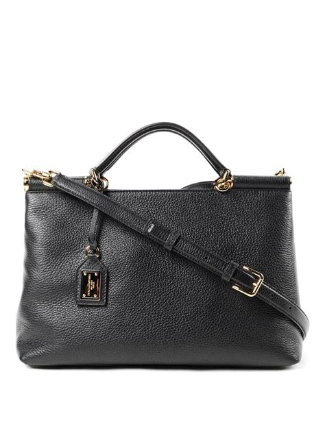 Dolce Gabbana Haircalf Tote by Sicily Deerskin Leather Tote By Dolce Gabbana Totes