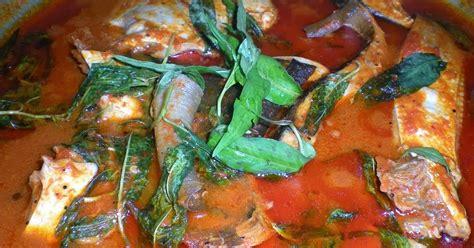 Lang Ikan Tenggiri Pedas alam sari di tanah jauhar asam pedas ikan pari dan kacang panjang bertumis telur tambah
