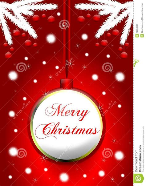 christmas greeting card royalty free stock photo image
