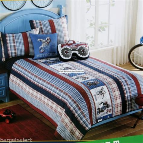 Bedcover Set Moonstar motocross jam trucks dirt bikes motorcycles 6pc