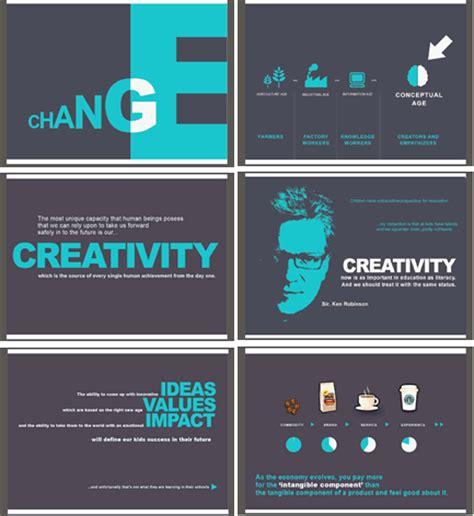 cara membuat power point kreatif inspirasi 20 contoh slide presentasi yang kreatif