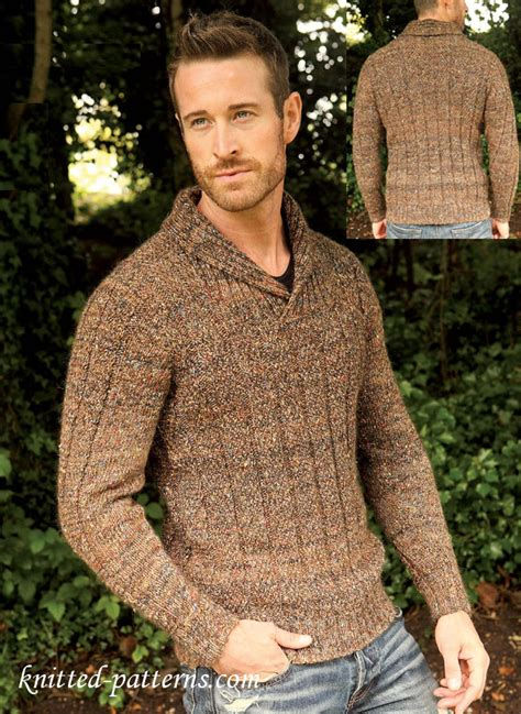 mens sweater knitting pattern s jumper free knitting pattern