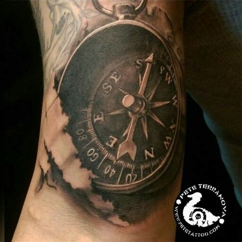 black and grey compass tattoo 17 best images about custom tattoos on pinterest lion