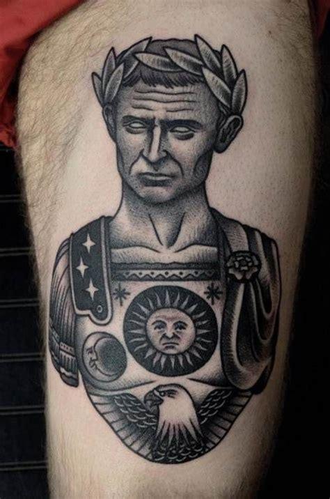 julius caesar tattoo 1000 images about on trash polka