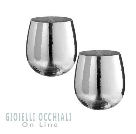 bicchieri argento oggettistica e soprammobili argenteria e idee regalo per