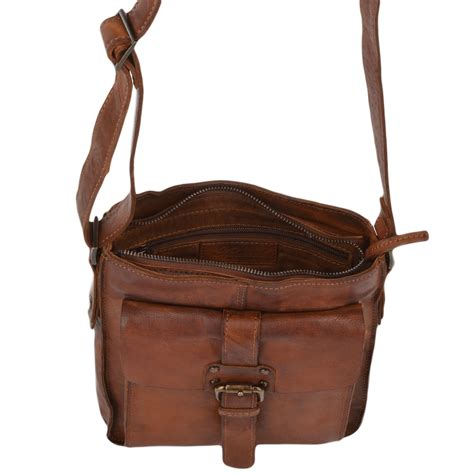 mens small vintage leather travel bag rust 7993 mens