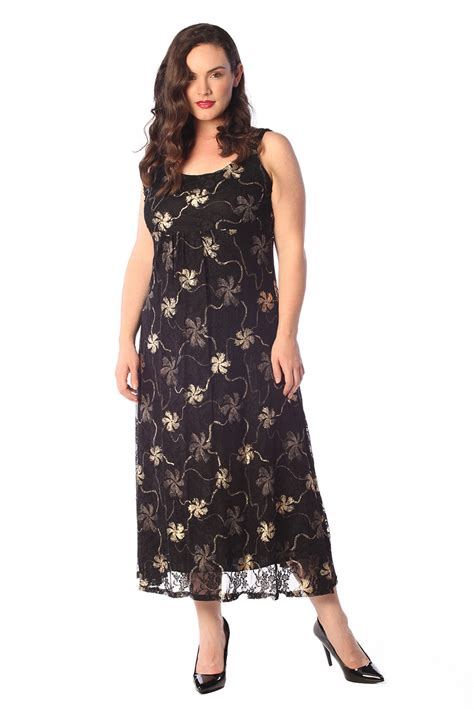Maxi Friends Foil new womens maxi dress floral gold silver foil hanky