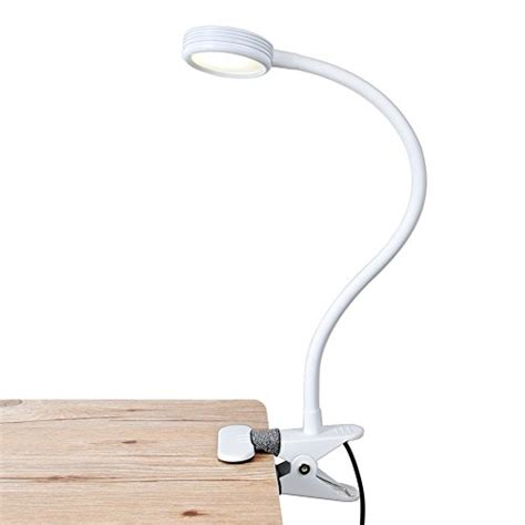 bed l clip on headboard lepower clip on light reading light light color