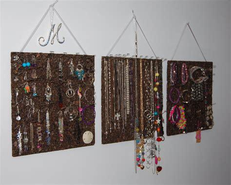 jewelry board is caring cork board jewelry organizer