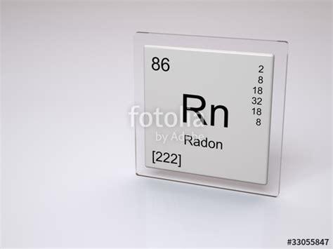quot radon symbol rn chemical element of the periodic
