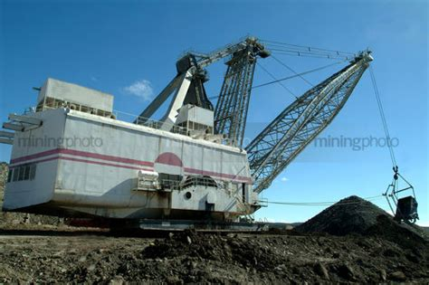 Dragline Operator by Mining Photo Mining Resource Stock Library Mining Stock Photography Image Library