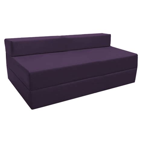 sleeping futon purple fold out guest sofa z bed sleeping mattress studio