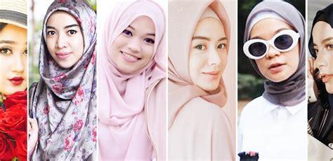 selebgram hijaber cantik tutorial hijab terbaru