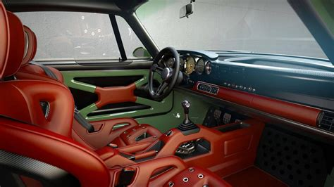 porsche 911 singer interior singer design porsche 911 project with williams tech