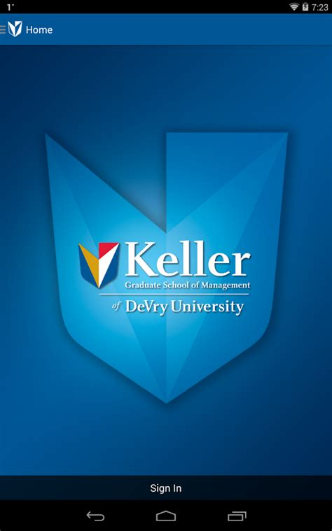 Www Keller Mba by Keller Graduate School App Android Apps On Play