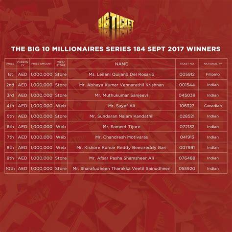 bid tickets takes home dh1 million in uae raffle the