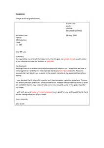 Letter letter of resignation one month notice letter notice period job